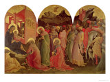 The Adoration of the Magi, 1422 Giclée-tryk af Lorenzo Monaco