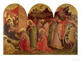 The Adoration of the Magi, 1422 Giclée-tryk af Lorenzo Monaco