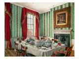 Our Dining Room at York, 1838 Giclee Print by Mary Ellen Best