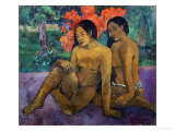 And the Gold of Their Bodies, 1901 Giclee Print by Paul Gauguin