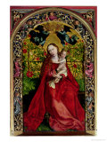 Madonna of the Rose Bower, 1473  Lámina giclée por Martin Schongauer