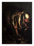 St. Joseph, the Carpenter, circa 1640 Giclee Print by Georges de La Tour