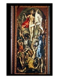 The Resurrection, 1584-94 (Oil on Canvas) Reproduction procédé giclée par El Greco