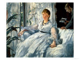 Reading, 1865 Giclee Print by Édouard Manet