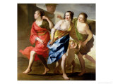 The Three Graces Lámina giclée por Jan Gerritsz. van Bronckhorst