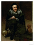 The Jester Juan Calabazas, 1639 Giclee Print by Diego Velázquez