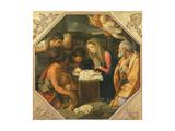 The Adoration of the Shepherds Giclée-Druck von Guido Reni