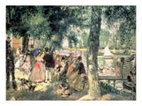 Bathing on the Seine Or, La Grenouillere, C.1869 (Oil on Canvas) Giclee Print by Pierre Auguste Renoir