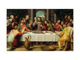 The Last Supper Giclee Print by Vicente Juan Macip