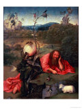 St. John the Baptist in Meditation Giclee Print by Hieronymus Bosch