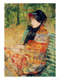 Portrait of Mlle C. Lydia Cassatt, 1880 Giclee Print by Mary Cassatt