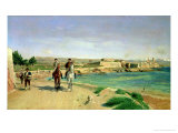 Antibes, the Horse Ride, 1868 Giclee Print by Jean-Louis Ernest Meissonier
