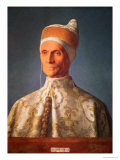 Leonardo Loredan (1436-1521) Doge of Venice from 1501-21, circa 1501 Giclee Print by Giovanni Bellini