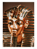 The Gold Mask, from the Treasure of Tutankhamun (circa 1370-52 BC) circa 1340 BC Giclee Print