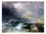 Bamburgh Castle, Northumberland Giclee Print by William Andrews Nesfield