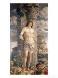 St. Sebastian, 1481 Giclee Print by Andrea Mantegna