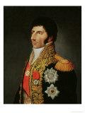 Portrait of Marshal Charles Jean Bernadotte (1763-1844) 1805 Giclee Print by Johann Jacob de Lose