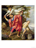 The Sacrifice of Isaac Giclee Print by  Domenichino