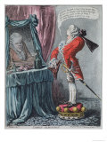 Lordly Elevation, Pub. by Hannah Humphrey, 1802 Giclee Print by James Gillray
