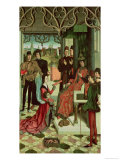 The Justice of the Emperor Otto: Trial by Fire, 1471-73 Giclee Print by Dieric Bouts