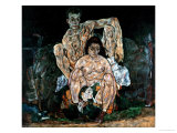 The Artist's Family Giclee Print by Egon Schiele