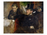 Jeantaud, Linet and Laine, 1871 Giclee Print by Edgar Degas