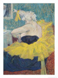 The Clowness Cha-U-Kao in a Tutu, 1895 Giclee Print by Henri de Toulouse-Lautrec