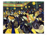 The Dance Hall at Arles, c.1888 Giclee Print by Vincent van Gogh