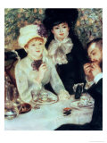 The End of Luncheon, 1879 Giclee Print by Pierre-Auguste Renoir