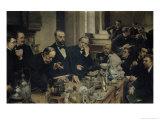 Henri Sainte-Claire Deville (1818-81) Lecturing, 1890 Giclee Print by Léon Augustin L'hermitte