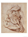Study of an Arm (Ink) Giclee Print by Michelangelo Buonarroti