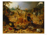 An Allegory of Autumn Giclee Print by Sebastian Vrancx