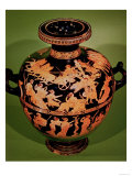 Greek Hydria, Representing the Rape of Leucippides, by the Painter of Meidias, 480 BC Giclee Print