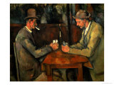 The Card Players, 1890-95 Premium Giclee Print by Paul Cézanne