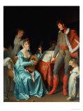 La Duchesse Abrantes Et Le General Junot Giclee Print by Marguerite Gerard