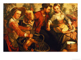At the Market Giclee Print by Joachim Beuckelaer