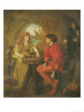 The Tempest Giclee Print by Lucy Madox Brown