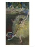 End of an Arabesque, 1877 Premium Giclee Print by Edgar Degas