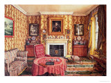 Our Drawing Room at York Premium Giclee Print by Mary Ellen Best