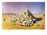 An Allegory of the 1871 War, 1871 Giclee Print by Vasilij Vereshchagin