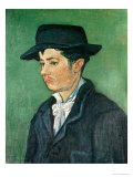 Portrait of Armand Roulin, c.1888 Giclée-tryk af Vincent van Gogh