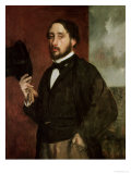 Self Portrait, circa 1862 Giclee Print by Edgar Degas