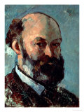 Self Portrait Giclee Print by Paul Cézanne