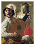 The Duet, 1628 Giclee Print by Hendrick Terbrugghen