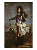 Portrait of Louis XIV (1638-1715) Giclee Print by Hyacinthe Rigaud