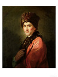 Jean Jacques Rousseau (1712-78) Giclee Print by Allan Ramsay