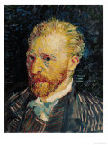 Self Portrait, c.1887 Giclee Print by Vincent van Gogh
