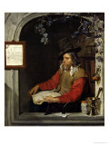 The Apothecary Or, the Chemist Giclee Print by Gabriel Metsu