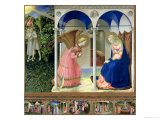 The Annunciation, circa 1430-32 Giclée-Druck von Fra Angelico