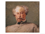 Portrait of Alexandre Dumas Fils (1824-95) Giclee Print by Georges Clairin
